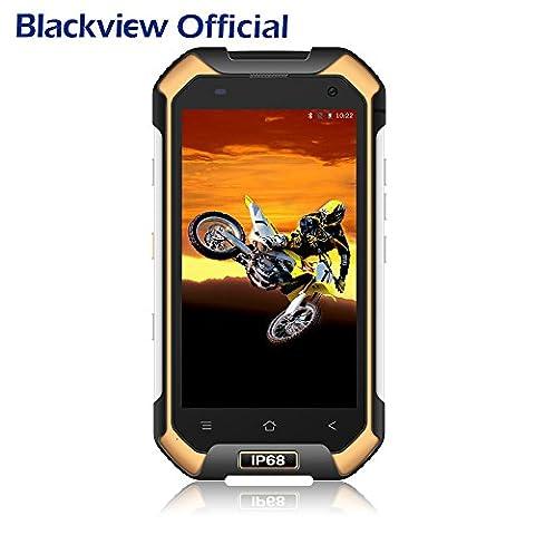 Smartphone IP68, Blackview BV6000 Androïd 7.0 Outdoor Smartphone Débloqué Ecran 4.7