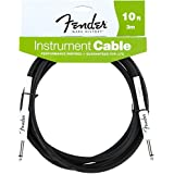 Fender Performance Series jack/jack 3m (10 ft) black - Cable audio Performance Guitar Cable 10' Black
