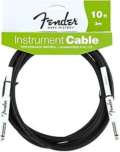 Fender Performance 10' Instrument Guitar Cable Jack - Jack 10FT
