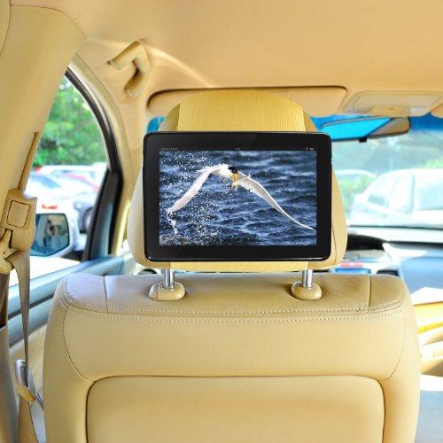 Kfz Halterung Kindle Fire HDX 7-Zoll Schnellverschluss Auto Kopfstützenhalterung -Beige von TFY