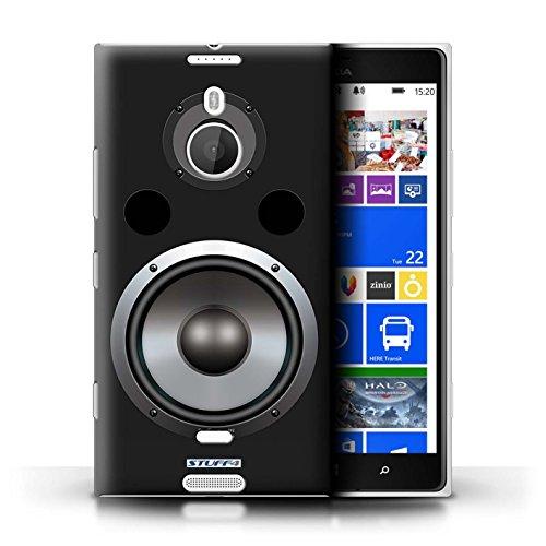 Kobalt® Imprimé Etui / Coque pour Nokia Lumia 1520 / Moniteur Studio conception / Série Haut-Parleur dessin Hifi