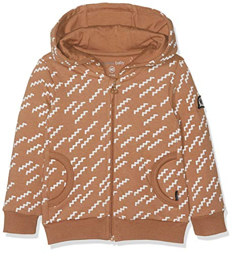 Noppies Baby-Jungen B Sweat Hood Plymouth AOP Sweatjacke, Mehrfarbig (Washed Wood P014), 68