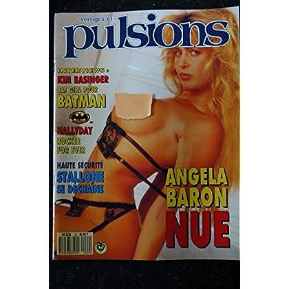 PULSIONS 20 HALLYDAY BATMAN KIM BASINGER SEXY DESIR ANGELA BARON INTEGRAL NUDE