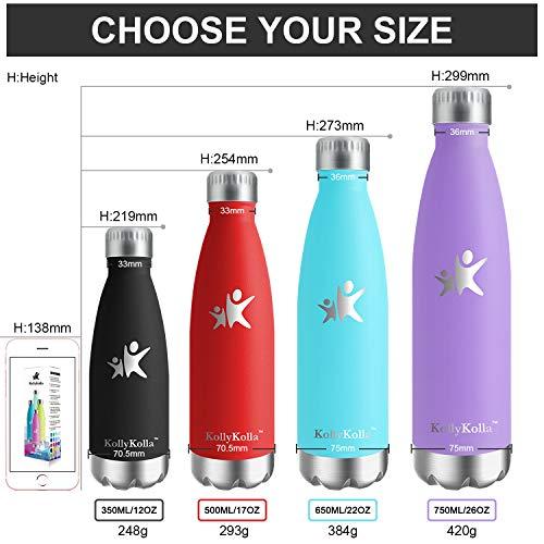 Zoom IMG-3 kollykolla bottiglia acqua in acciaio