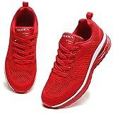 GAXmi Luftkudde för kvinnor löparskor nät lätt andas fitness sneakers damer stötdämpande halkfria träningsskor