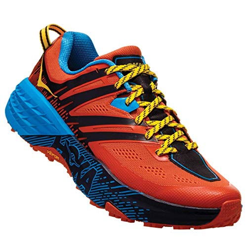 HOKA Speedgoat 3, Scarpe Trail-Running Uomo, Arancione (Nasturtium/SpicyOrange NSOR), 43 1/3 EU