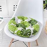 M&X Weiche runde rundschreiben Sitz Pads Luxus Garten esszimmer Stuhl Schaumstoff Kissen Krawatte auf Kissen Polster Kissen Startseite büro Stuhl pad-I 45x45cm(18x18inch)