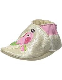 Robeez Quiet Parrot, Chaussures de Naissance Bébé Fille