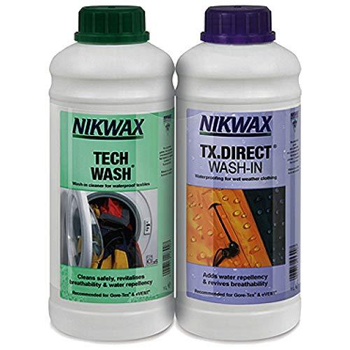 Nikwax Tech Wasch/tx Twinpack 1l