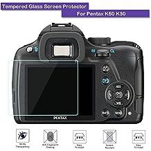 Protector de pantalla LCD de cristal templado para la Pentax K50 K30,9, 0,3mm de espesor, de la marca Fiimi