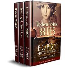 Western Prairie Brides: Three Book Bundle, Historical Romance