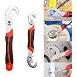 Fedus Multi-Function Universal Quick Snap N Grip Adjustable Wrench Spanner Set