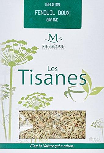 Laboratoire Messegué Tisane en vrac Graines de Fenouil 100 g