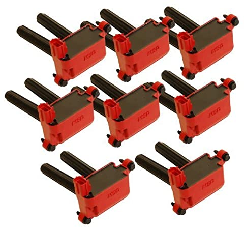 MSD 82558 Blaster Coil-on-Plug, (Set of 8) by