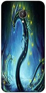 Snoogg Dragon Era Designer Protective Back Case Cover For Micromax Canvas Spark Q380