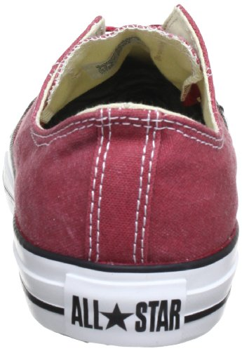 Converse Ct Bas Wash Ox 287140-55-8, Sneaker unisex adulto Jester Red