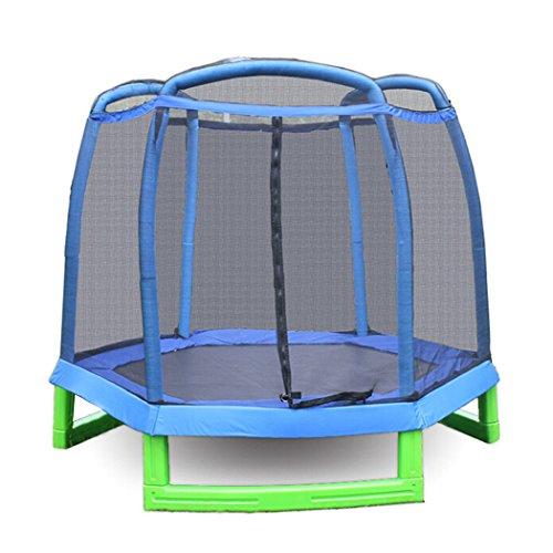 *Kindertrampolin mit netz Kleinkinder Trampolin zum Springen Durchmesser:213CM)*