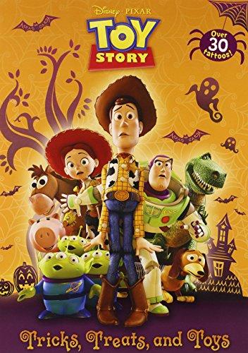 Toys [With Tattoos] (Disney Pixar Toy Story) by Disney (10-Jul-2012) Paperback (Pixar Tattoo)