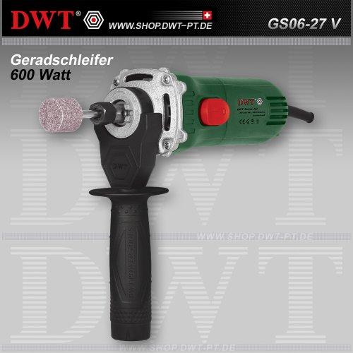 Preisvergleich Produktbild DWT Geradschleifer 600 Watt mit Drehzahlregler und Zubehör - GS06-27 V