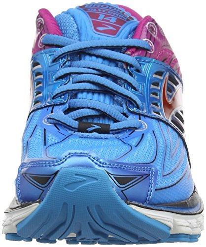 Brooks Glycerin 14, Chaussures de Running Entrainement Femme Multicolore (Blau/Violett)
