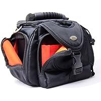 Original Arkas étui (sacoche) noire avec intérieur orange pour caméra numérique