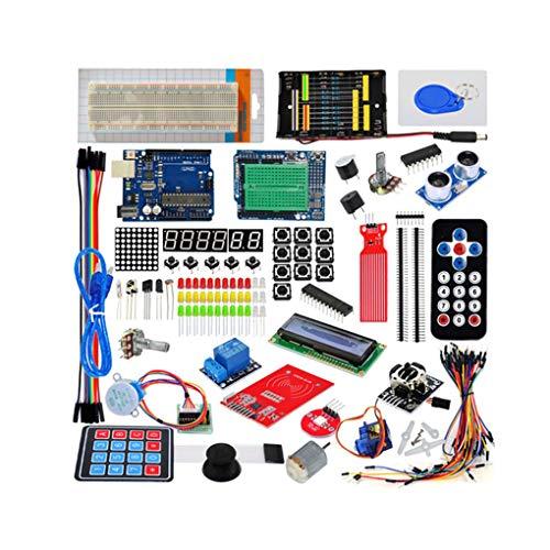 Ben-gi Starter Kit Development Board Kit Projekt Starter Kit w/Tutorial Kompatibel für Arduino UNO r3