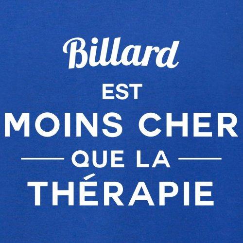 Billard est moins cher que la thérapie - Femme T-Shirt - 14 couleur Bleu Royal