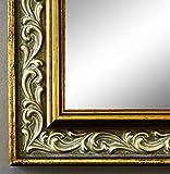 Online Galerie Bingold Spiegel Wandspiegel Badspiegel Flurspiegel Garderobenspiegel - Über 200 Größen - Verona Gold 4,4 - Außenmaß des Spiegels 10 x 10 - Wunschmaße auf Anfrage - Modern