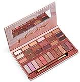youstar ROSE GLAM Eyeshadow Palette, 18 matte Eyeshadows & 12 shimmer Eyeshadow
