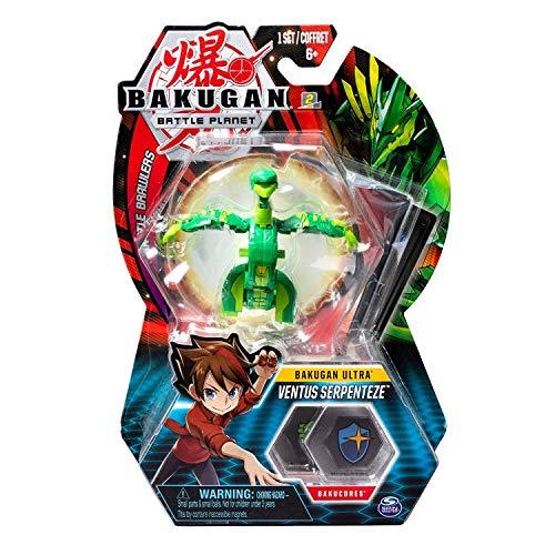 BAKUGAN Deluxe Ultra 1 Pack 3 Inch Figure Ventus Serpenteze