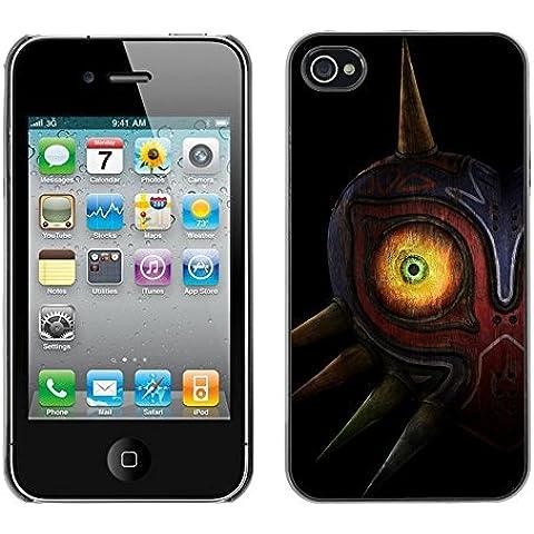 Estratto Totem Eye Mask OYAYO iPhone 4 / 4S //Copertine freddi per tutti i gusti! Protezione notch superiore per il vostro Smartphone.