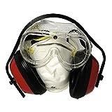 Maurer 15040650 Kit Protección Maurer Gafas, Mascarilla y Protector Auditivo Homologado