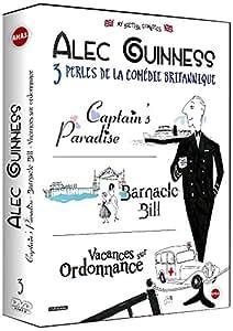 Alec Guinness : 3 perles de la comédies : Captain's Paradise + Barnacle Bill + Vacances sur ordonnance