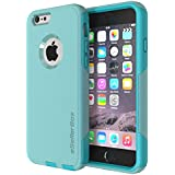 iPhone 6 Case By eSellerBox® Heavy Duty Armor Full body Rugged Hybrid Daul-Layer Shock-Absorption Anti-Scratch Drops and Bumps Protection Durable Defense Case Cover (Teal)