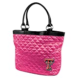 NCAA Texas Tech University Pink Quilted Tote