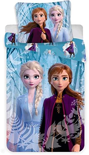 Disney Frozen 2 - Juego Funda edredón Almohada 140