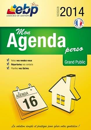 EBP Mon Agenda Perso 2014 [Téléchargement]