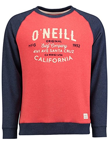 Herren Sweater O'Neill Pch Carmel Sweater aurora red