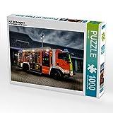 CALVENDO Puzzle Feuerwehr Löschfahrzeug HLF (BF Salzgitter) 1000 Teile Lege-Größe 64 x 48 cm Foto-Puzzle Bild von Markus Will