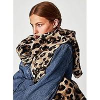 Herbst und Winter Zähler Leopardenmuster Schals Vintage Kaschmir Schalkragen , Leopardenmuster