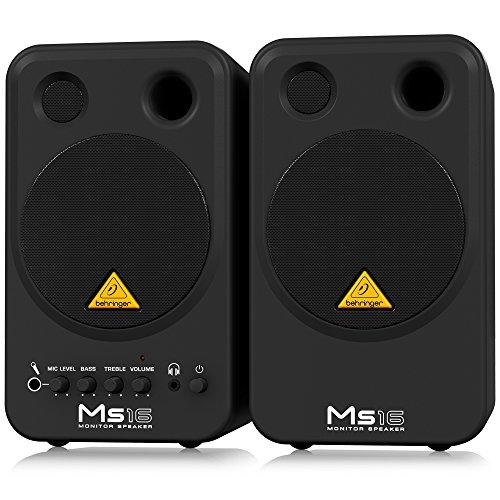Behringer-MS16-Stereo-Monitor-Lautsprecher-16-Watt