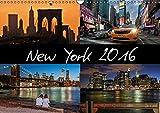 New York (Wandkalender 2016 DIN A3 quer): Ein Wandkalender von New York der besonderen Art. 12 wunderbar lebendige Aufnahmen im abendlichen ... (Monatskalender, 14 Seiten ) (CALVENDO Orte)