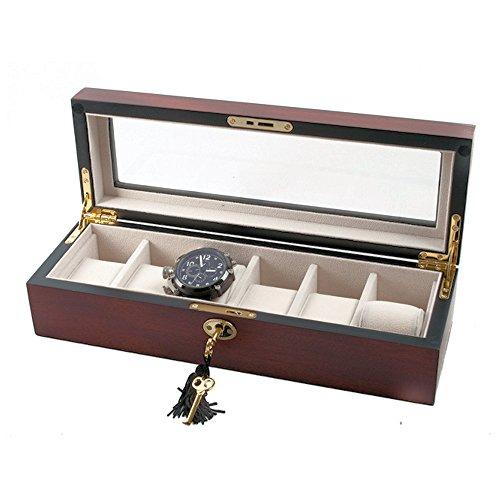 fine-cerise-mat-boite-de-rangement-en-bois-montre-pour-6-montres