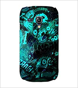 PrintDhaba Graffiti D-3907 Back Case Cover for SAMSUNG GALAXY S3 MINI (Multi-Coloured)