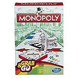 Hasbro - Monopoly Grab & Go-Spiel für Unterwegs (Englische Sprache) [UK Import]