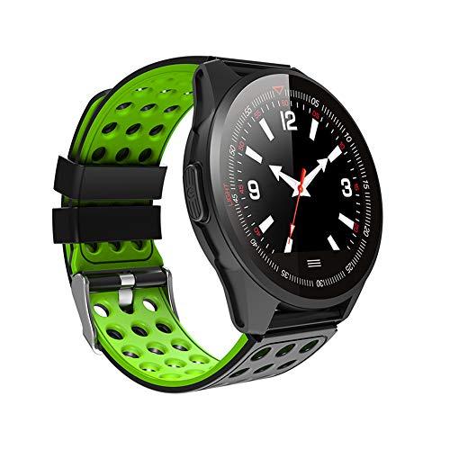 UMGZY Pulsera Actividad, Fitness Tracker Frecuencia Cardíaca Monitor, IP68 Impermeable Pantalla Color, Monitor de Sueño, 9 Modos de Deporte, Bluetooth Pulsera Inteligente,Green