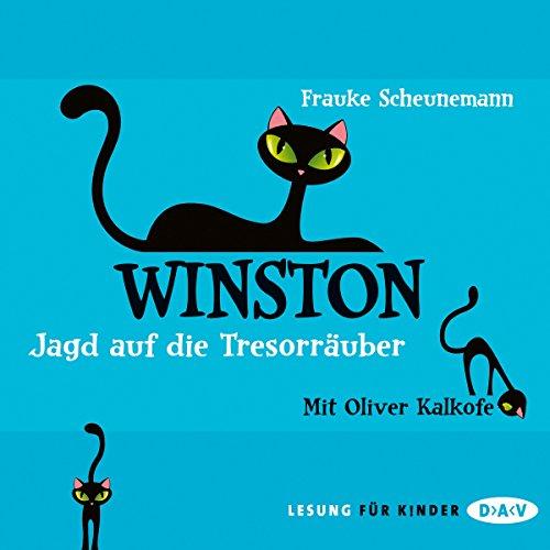 Buchseite und Rezensionen zu 'Jagd auf die Tresorräuber: Winston 3' von Frauke Scheunemann
