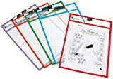Learning Resources Wipe Clean Pockets - Set of 5
