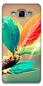 The Racoon Grip printed designer hard back mobile phone case cover for Samsung Galaxy A5. (blooming b)