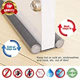 Smart Saver 36 Inch Under Door Twin Draft Stopper, Sound Proof Reduce Noise,Energy